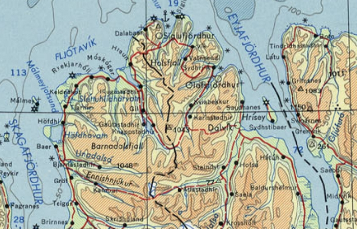 Topographic Map Of Iceland.Iceland Aesthetics An Irish Travel Guide