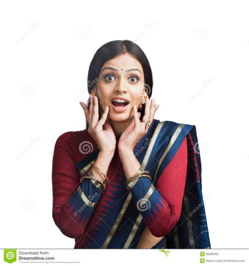 traditionally-indian-woman-gesturing-looking-surprised-36388459